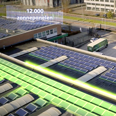 Video, Zonnepanelen HEINEKEN distributiecentra