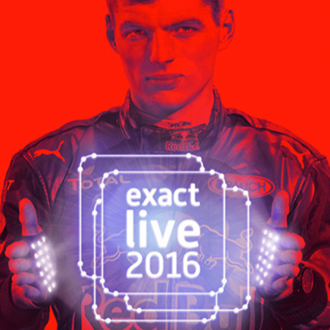 Live webcast Exact Live Business Evenement met Max Verstappen