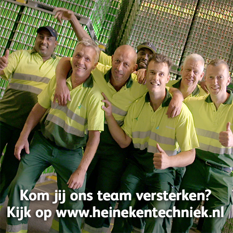 Vídeo do recrutamento por Heineken Netherlands Supply.