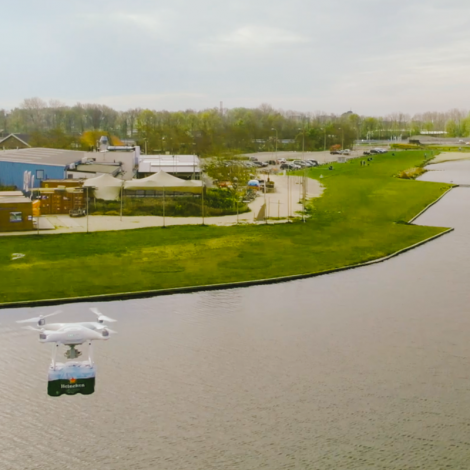 Drone project voor HEINEKEN Procurement