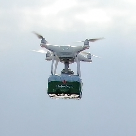 Drone project for HEINEKEN Procurement